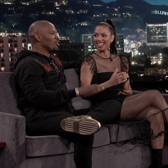 Jamie Foxx and Daughter Corinne on Jimmy Kimmel June 2019