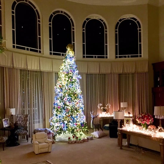 Britney Spears's Big Christmas Tree