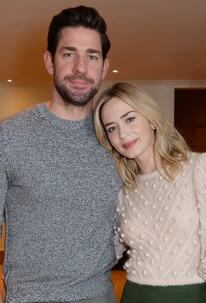 Emily Blunt and John Krasinski at A Quiet Place Screening