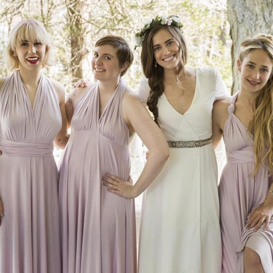 Lena Dunham Girls Season 5 Wedding Instagram