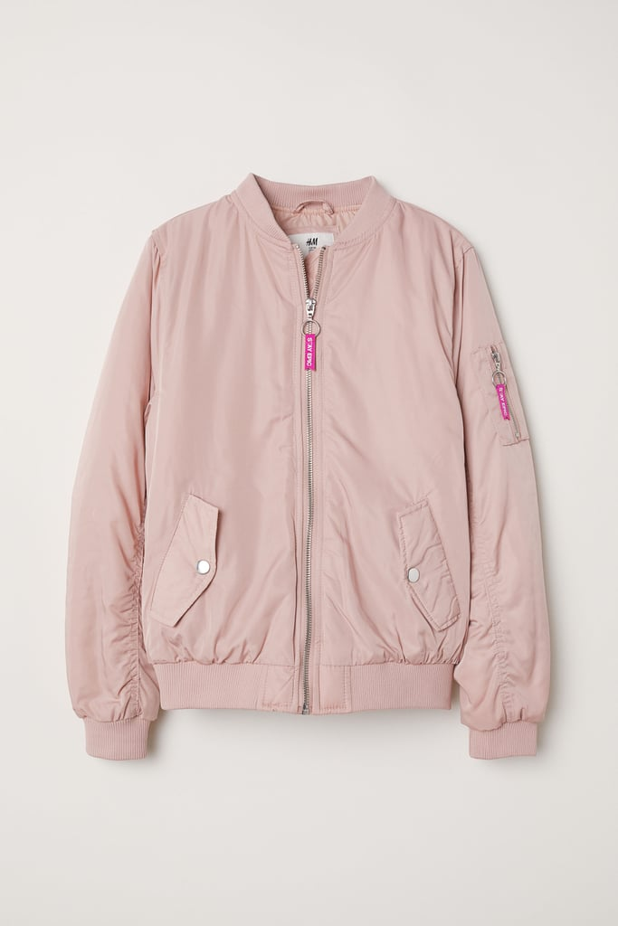 eb3093df8 Shop Similar: H&M Bomber Jacket | Lara Jean's Outfits in To All the ...