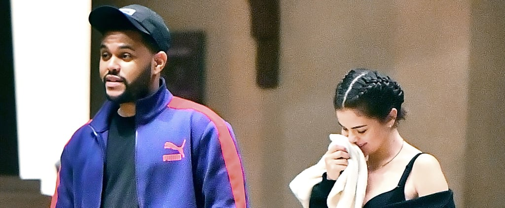 Selena Gomez Cuddles Up to The Weeknd During Their Romantic Disneyland Date
