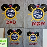 Disney Cruise Personalized Family Shirts