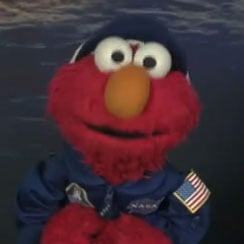 Elmo at NASA Video