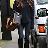 Victoria Beckham walked on the street in London.