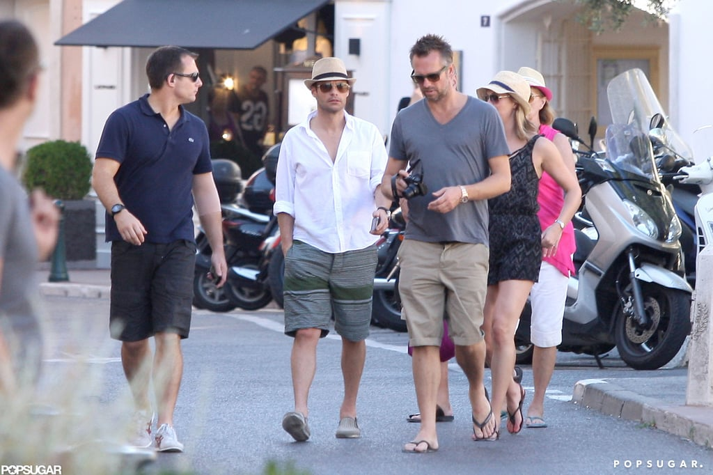 Ryan Seacrest Gets Shirtless in St.-Tropez