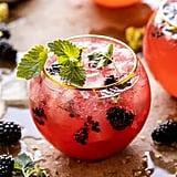 Blackberry Champagne Mule