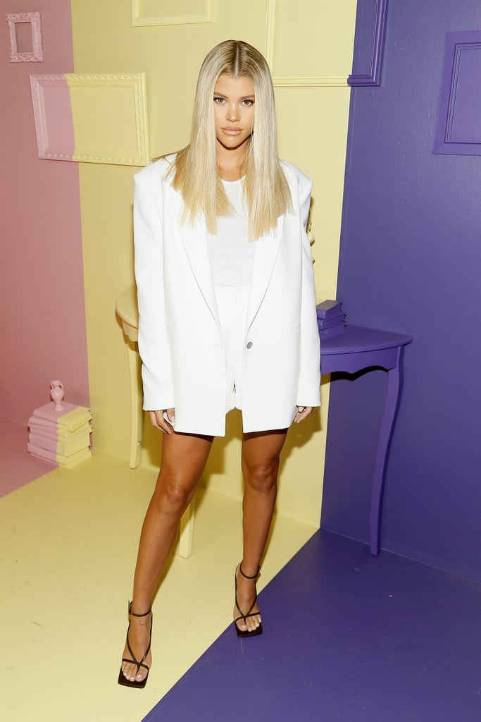 Sofia Richie at the Alice + Olivia New York Fashion Week Presentation