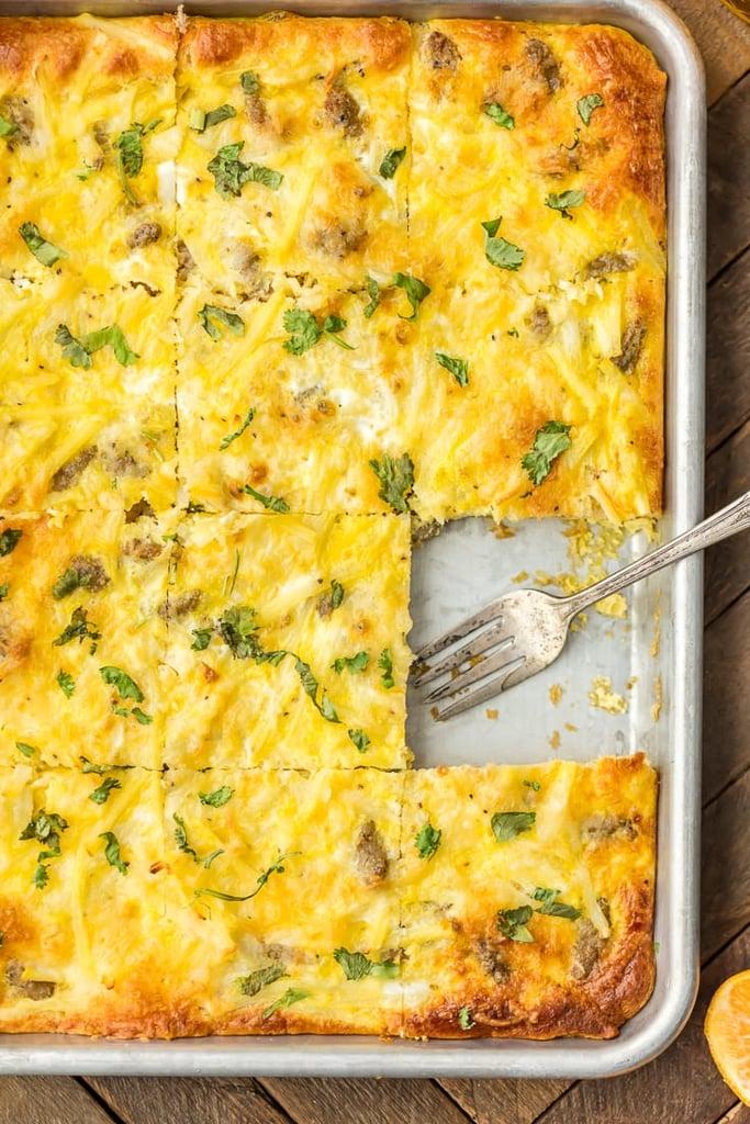 Easy Sheet-Pan Breakfast Pizza