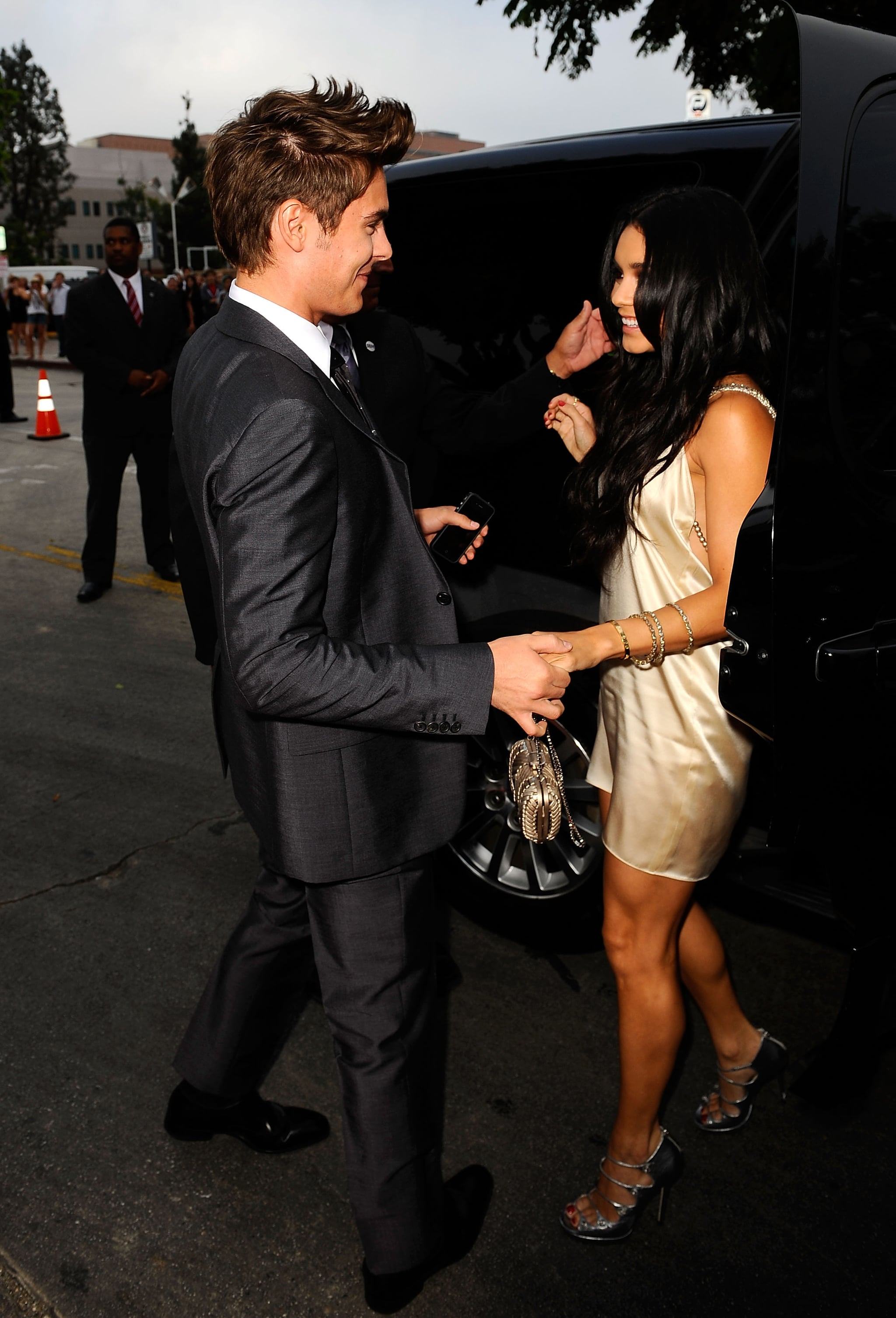 Pictures Of Zac Efron And Vanessa Hudgens At La Premiere