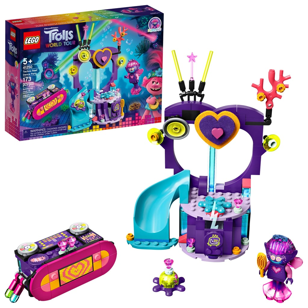 Lego Trolls World Tour Techno Reef Dance Party Set