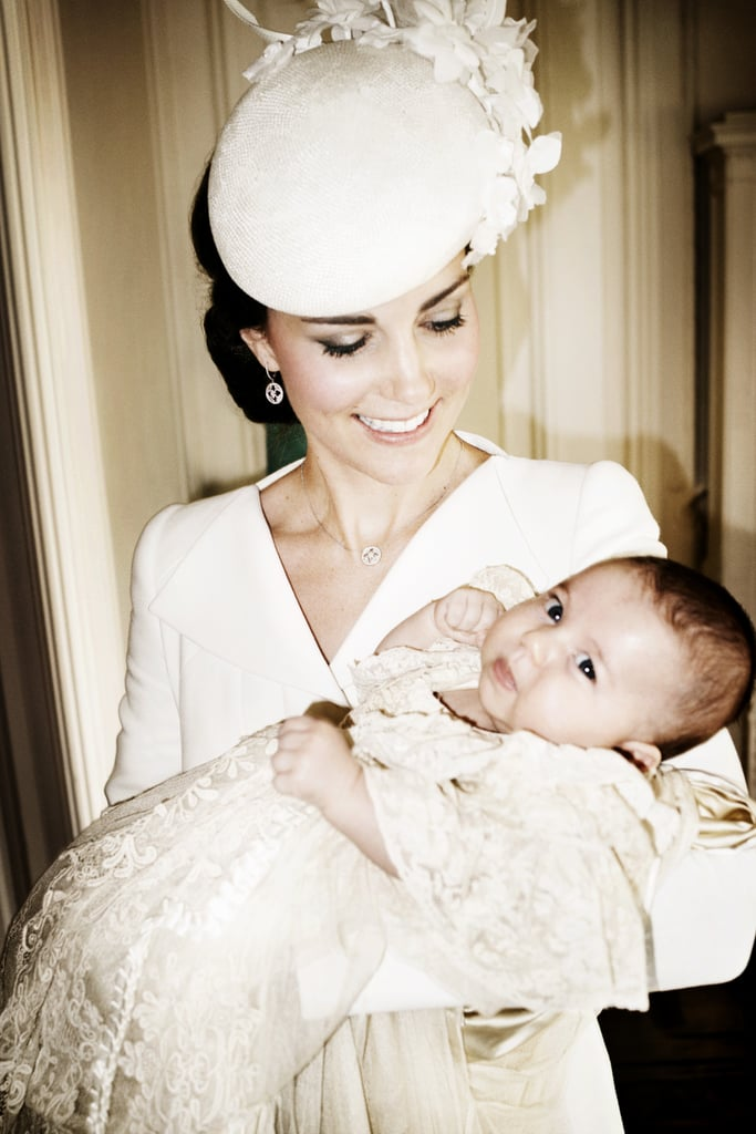 When She Got Candid With Charlotte at Her July 2015 Christening