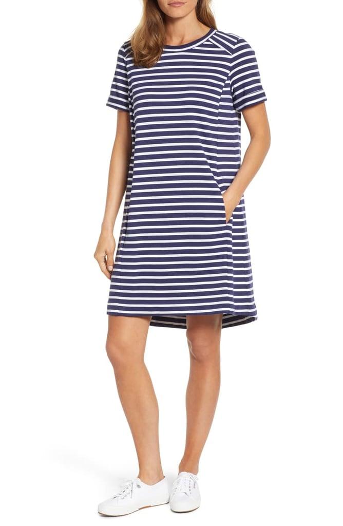 d119d77f7445 Caslon Short-Sleeve Cotton Blend Dress | Best Cheap Cotton Dresses ...