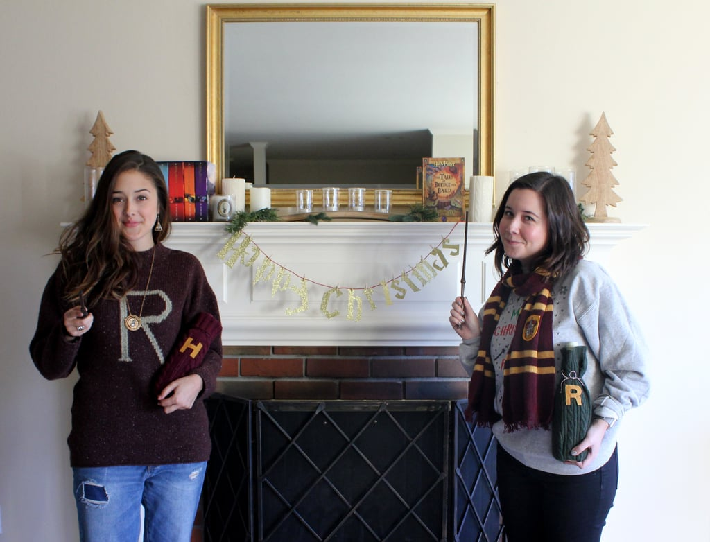 To top everything off, you'll need your best Harry Potter sweaters.
