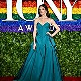 Hilary Rhoda at the 2019 Tony Awards