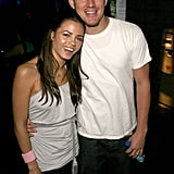 Jenna and Channing attended a May 2007 charity event in LA.