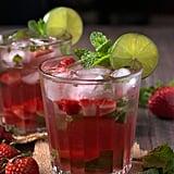 Strawberry Rosé Wine Mojito
