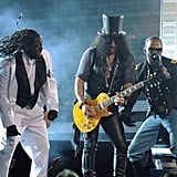 Jamie Foxx, Slash, and T-Pain Get Down