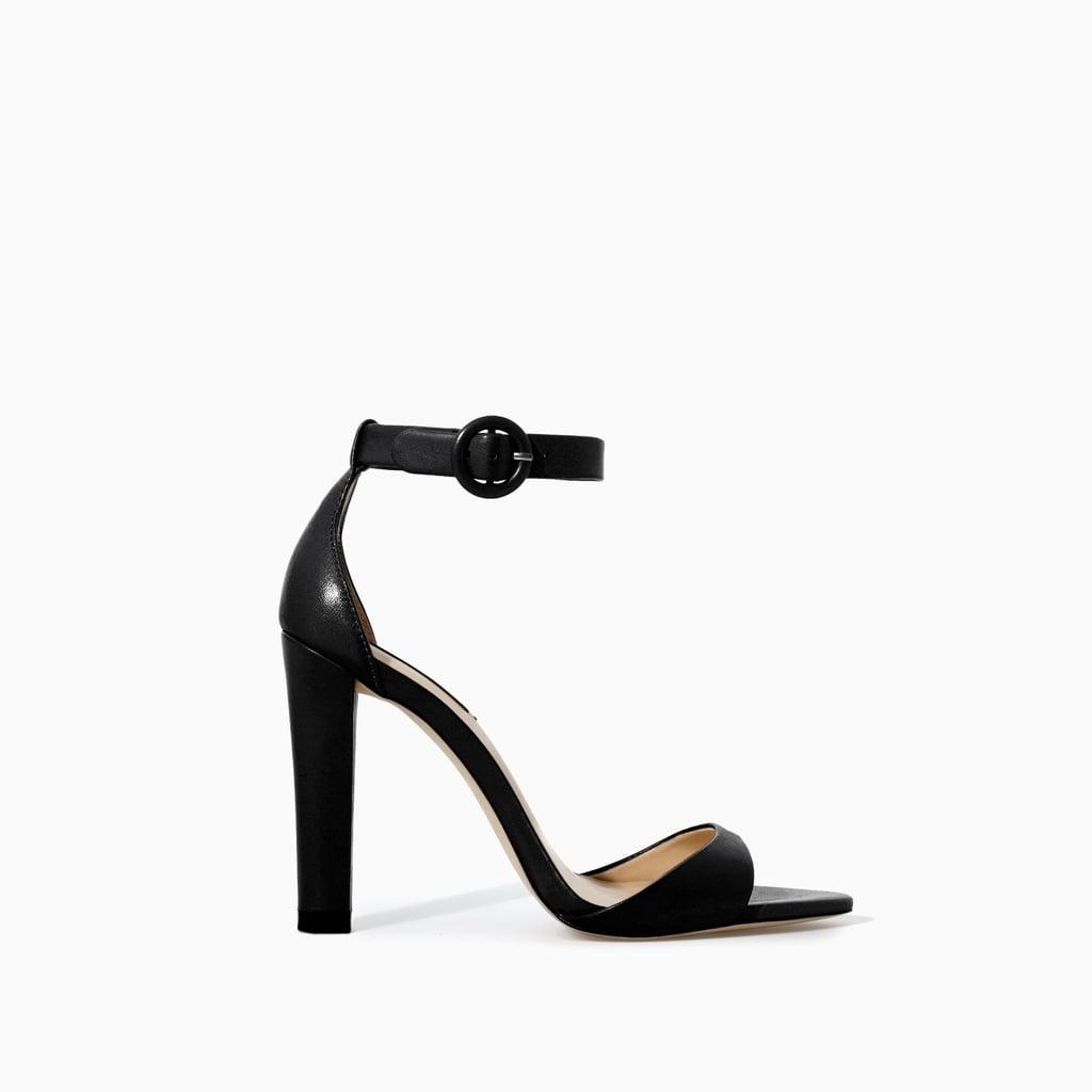 Zara Ankle-Strap Heel