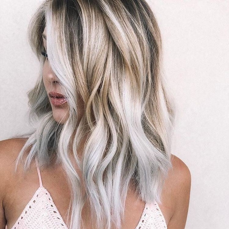 Toasted Coconut Hair Color Trend Popsugar Beauty