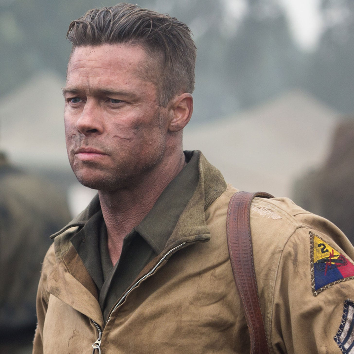 Brad pitts fury movie review popsugar celebrity urmus Images
