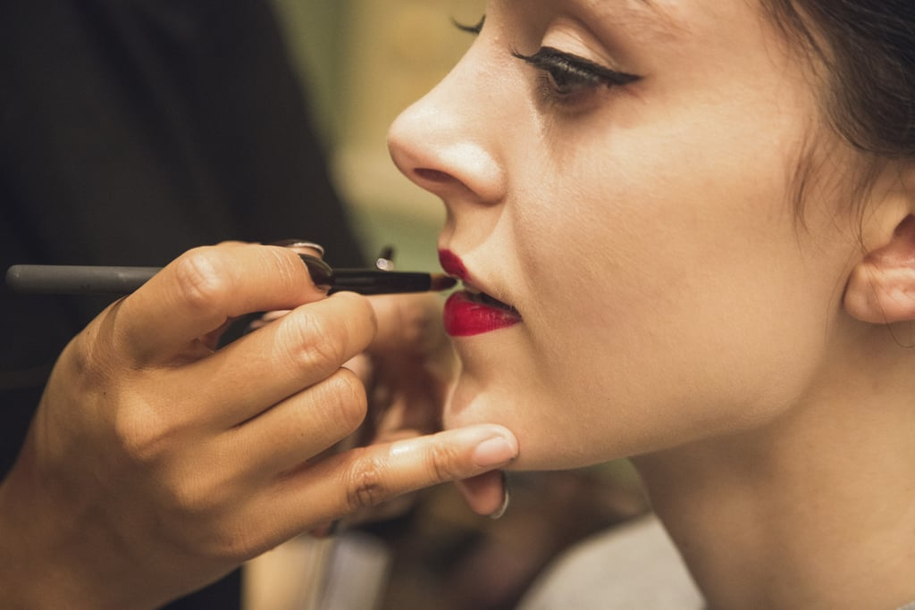 Keep Your Matte Lipstick From Smudging