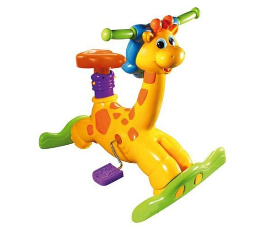 VTech Jungle Gym Ride and Learn Giraffe Bike