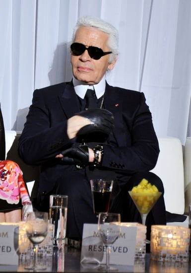 Karl Lagerfeld on Cutting His Hair, Christophe Decarnin, and Who He'd Like to See at Dior
