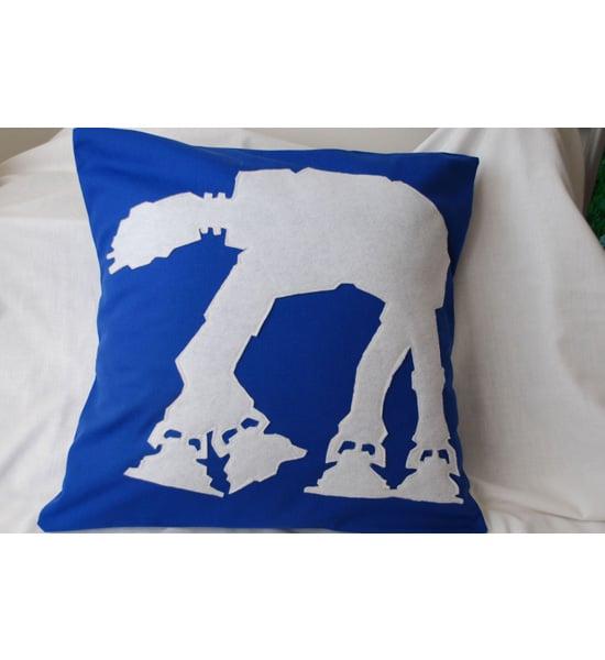 AT AT Attack Pillow Cover