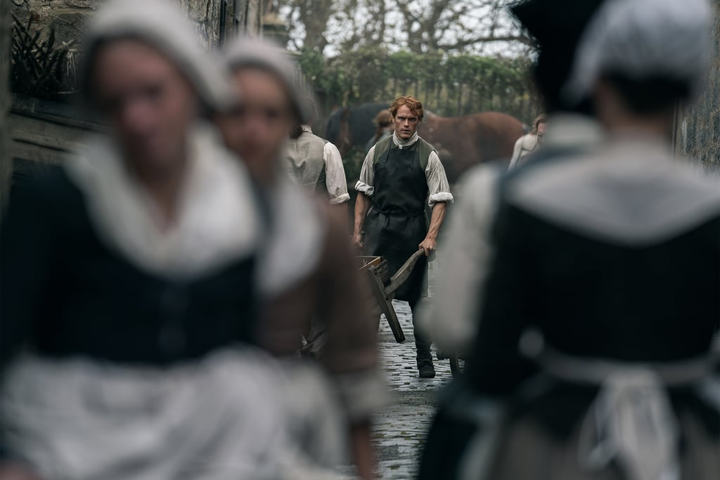The 38 Sexiest Pictures of Jamie on Outlander