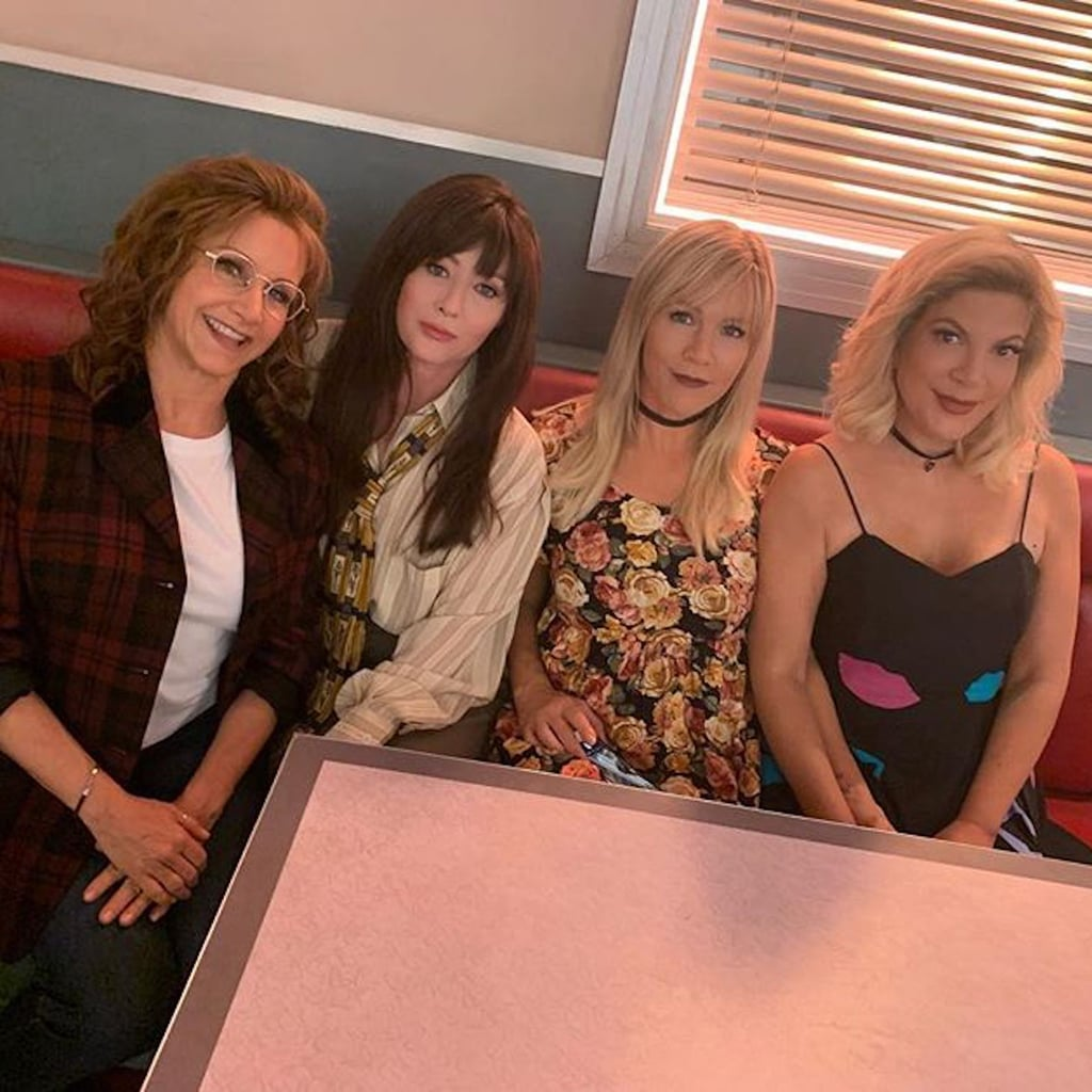 Behind-the-Scenes Instagrams From Beverly Hills 90210 Reboot