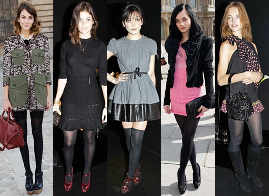 Photos of Celebrities at the Louis Vuitton Autumn 2010 Show at Paris Fashion Week 2010-03-11 02:15:20