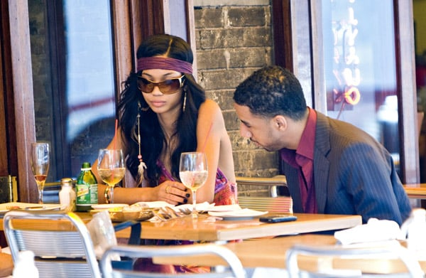 somethings up with chanel iman and ryan leslie popsugar
