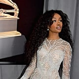 SZA Hair and Makeup at the 2018 Grammys