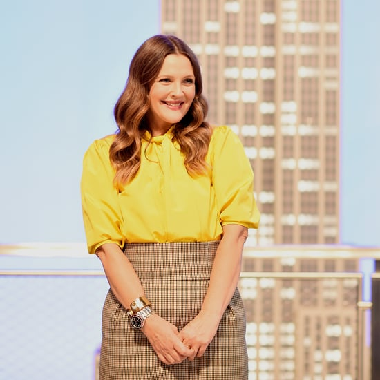 Drew Barrymore Got a Sweet New Tattoo on Her Talk Show