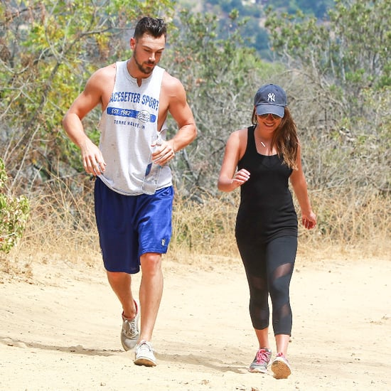 Lea Michele Goes Hiking After Glee Ends