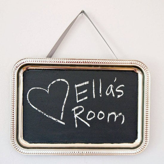 Make Your Own Chalkboard Paint  – And Use It