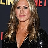 Jennifer Aniston With Blonde Highlights