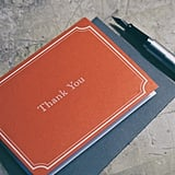 Hand write a thank-you card.