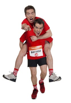 Read Our London Marathon Exclusive Interview With Dick and Dom