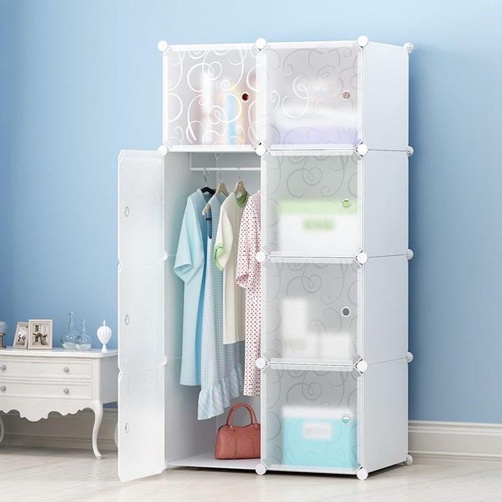 MEGAFUTURE DIY Portable Wardrobe Closet