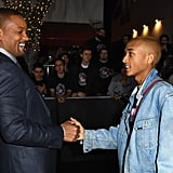 Will and Jaden Smith at Bright Premiere in LA 2017