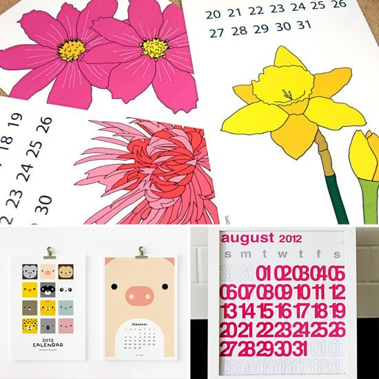 Pencil It In: 12 Printable Calendars For 2012