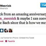 Molly Mesnick can't even get her former-Bachelor husband to tune in.
