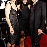 Courteney and David Stick Together at the Scream 4 Premiere With Neve, Adam, Emma, and More