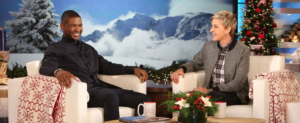 Usher Talks About His Wedding on Ellen
