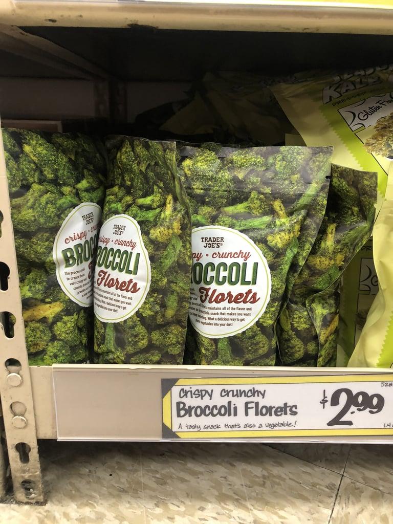 Crispy Crunchy Broccoli Florets ($3)