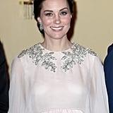 Kate Middleton Alexander McQueen Cape Dress