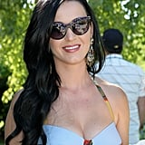 Katy Perry in a Bra Top at Coachella Party | Pictures
