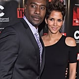 Costars Morris Chestnut and Halle Berry attended the premiere of their film The Call in Chicago on Thursday.